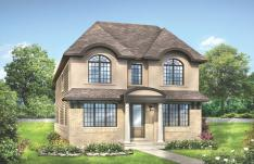One of 4 elevations available in the Arrowwood new Manotick homes for sale for you to choose from.