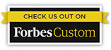 Check us out on Forbes Custom