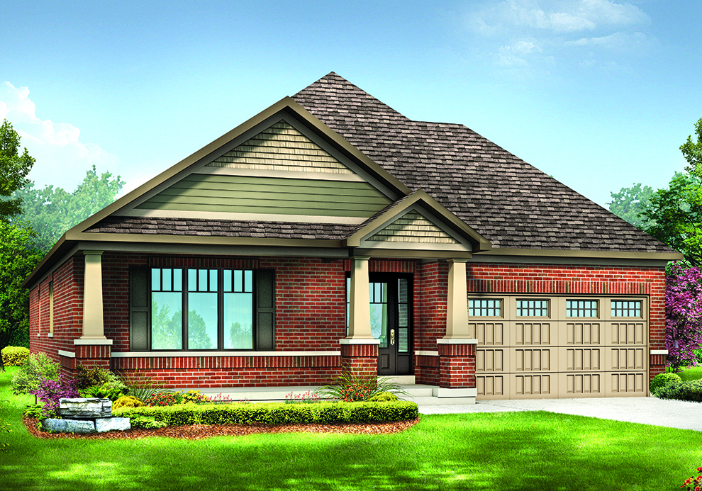 Mahogany - The Aspen - New Bungalows In Ottawa South | Minto