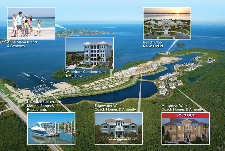 Harbour Isle offers private island homes  near Anna Maria Island, with a wide variety of unique amenities