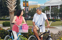 Bicycling in Tradition Florida
