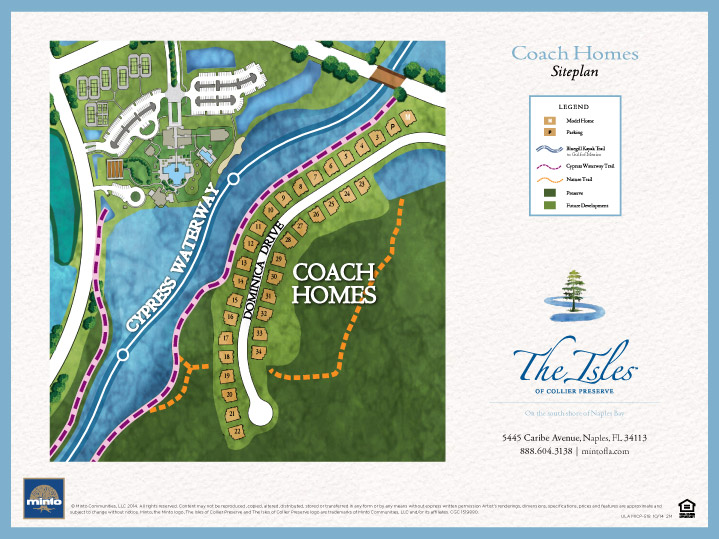 Coach Homes siteplan aerial view