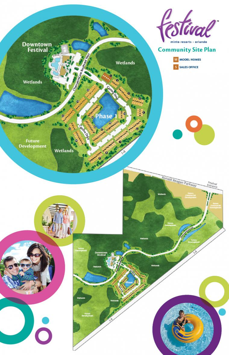 Orlando Homes Community Siteplan