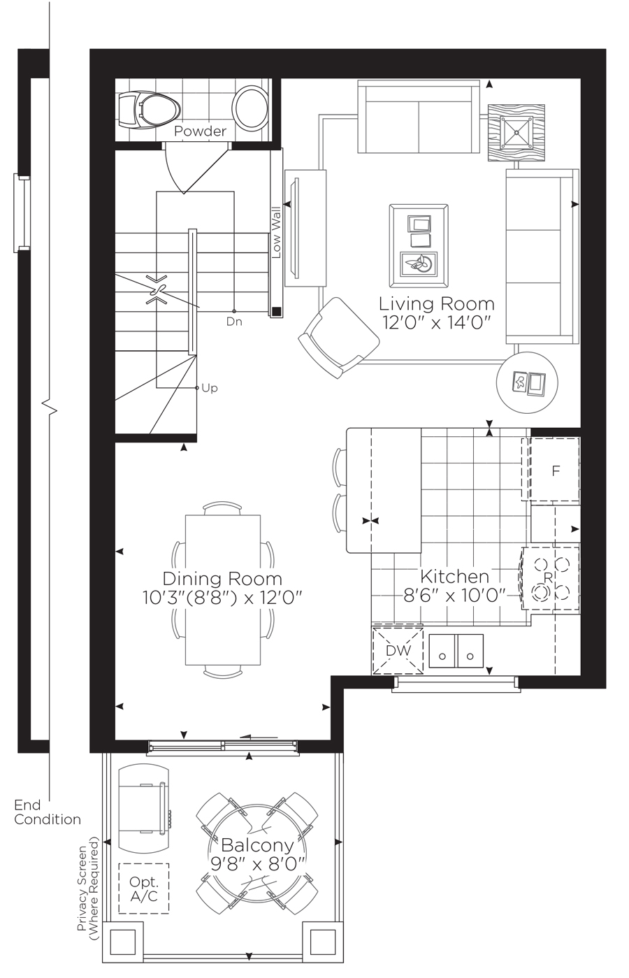 Minto homes floor plans minto terrace home floor plan for 100 taunton terrace oshawa