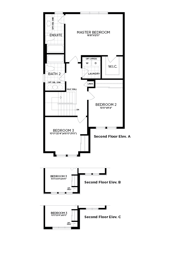 Arcadia the hyde new homes in kanata ottawa minto for Hyde homes floor plans