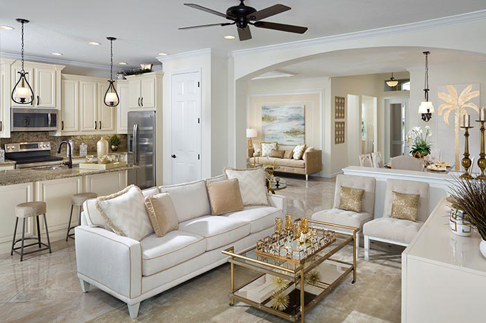 Luxury open floorplan living in Florida's most desirable places to live (Isle Shown)