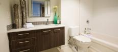 Ottawa apartment one80five bathroom