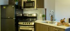 Ottawa apartment kitchen one80five