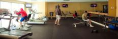 Gym in Vancouver furnished apartment