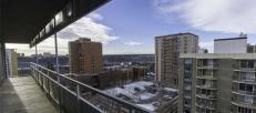 Edmonton's Lancaster House view