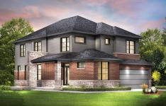 This elevation is the largest of the Jasper models, at 2398 square feet. Contact sales today to learn more about this Orleans home.