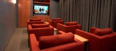 Roehampton Avenue movie room