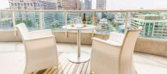 Yorkville Penthouse Suite Balcony View