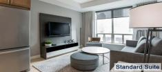 Living Room in Luxury Apartments For Rent in Yorkville Downtown Toronto