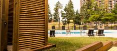 Navaho Terrace Outdoor Shower near pool