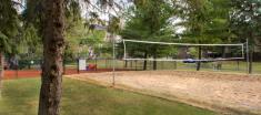 Renovated Navaho Walkups beach volleyball court