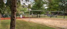 Beach Volleyball Court at Navaho Apartments