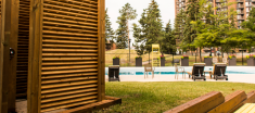 Navaho Townhomes and Garden Homes pool view