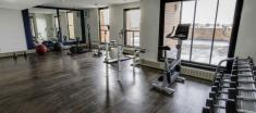 Fitness room in Radisson Apartment