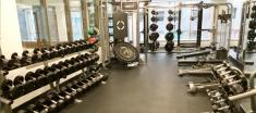 one80five weights at gym