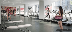 Fitness Centre In Apartments for Rent in King West Toronto