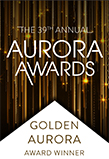 Aurora Awards. Golden Aurora. Award Winner