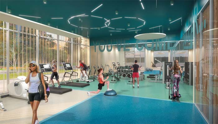 1235 Marlborough Gym Rendering