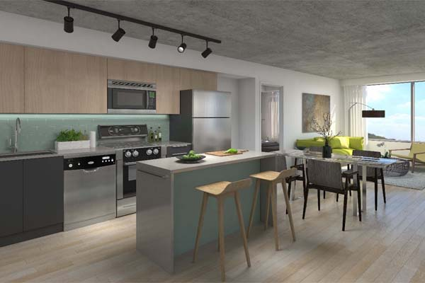 1235 Marlborough Interior Rendering