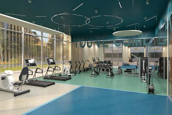 1235 Marlborough Fitness Center Rendering