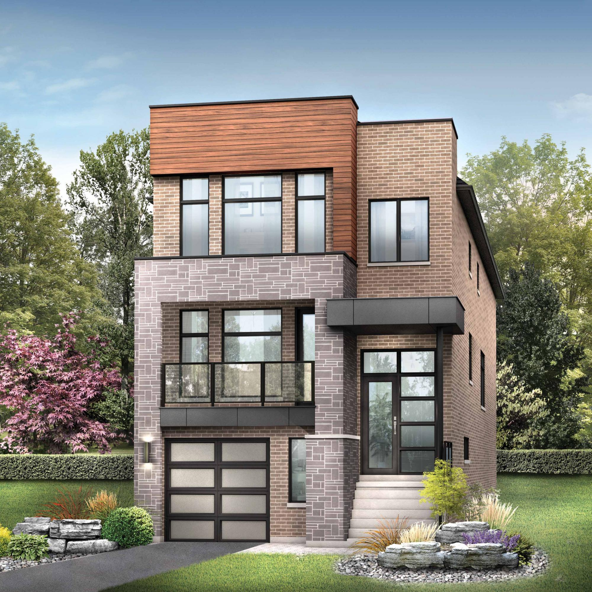 Rendering of Minto Communities Fitzgibbon model home