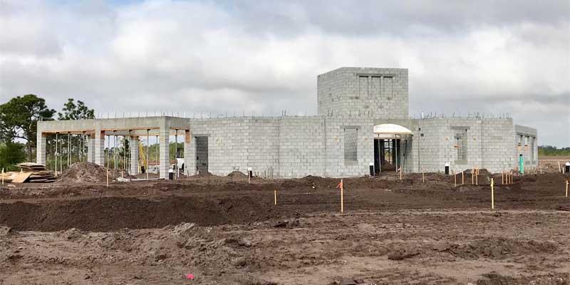 Construction of Club Amenities