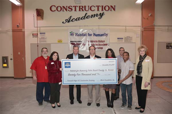 Minto Donates $75,000 to Habitat for Humanity
