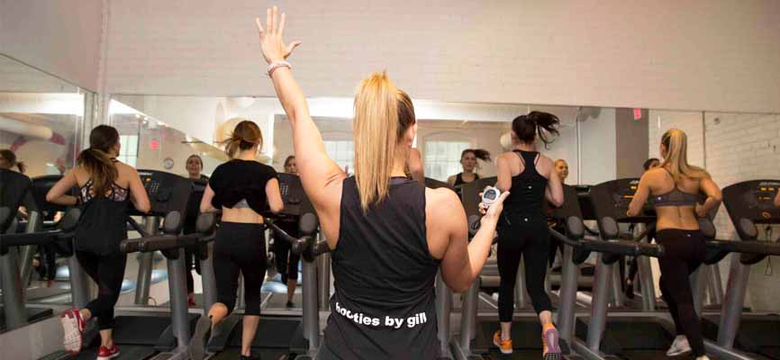 elle fitness on King Street West