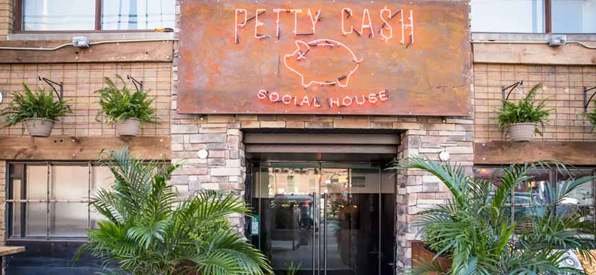 Petty Cash bar in Toronto
