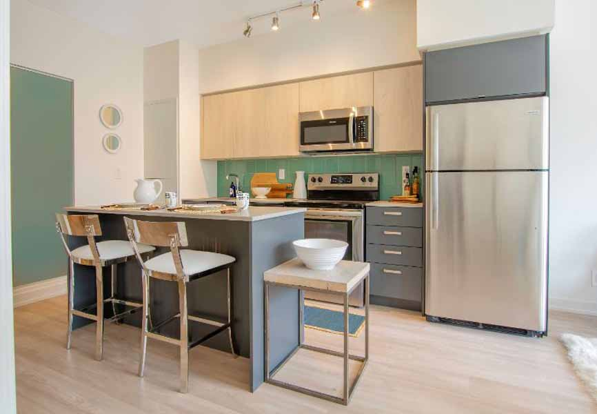 1235 Marlborough Minto Apartments kitchen