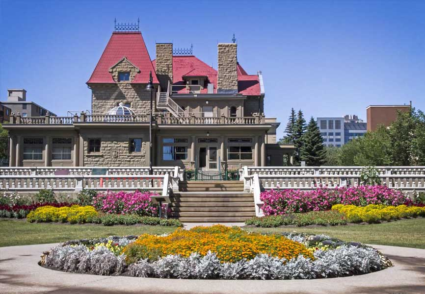 Lougheed House in Calgary