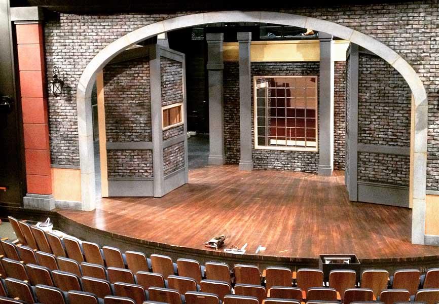 Vertigo theatre stage and audience