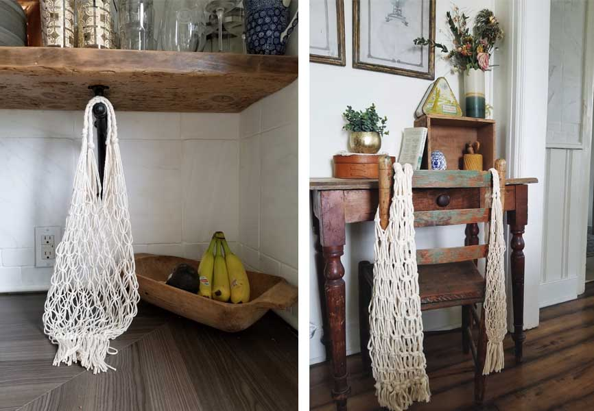 cotton mesh bags by @crookedcedar