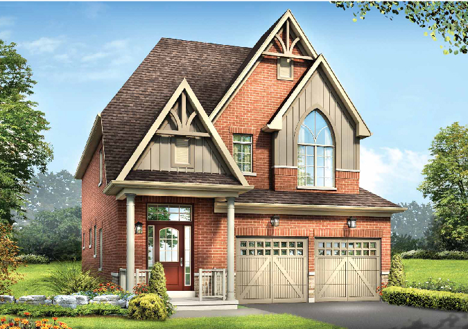 Havelock 3 bedrooms 36' new homes in Whitby