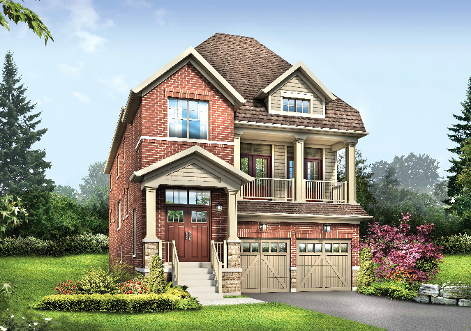 Rosemount 4 bedrooms 36' new home in Whitby