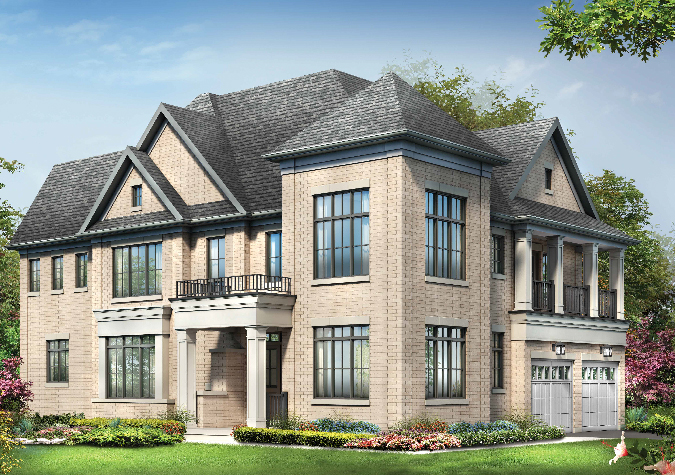 Lockton 4 bedroom 43' new homes in Whitby