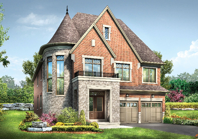 Summerfield 4 bedroom 43' new homes in Whitby