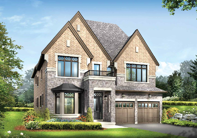 Wentworth 4 bedroom 43' new homes in Whitby
