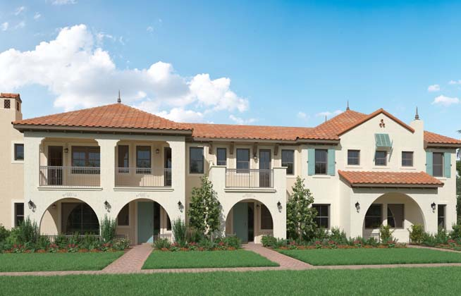 luxury townhomes