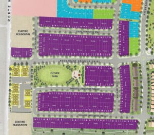 Executive Townhomes Site Plan, Homes For Sale At Avalon in Orleans Ottawa
