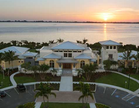 Beach Club at Harbour Isle in Anna Maria Sound at sunset. Now on sale