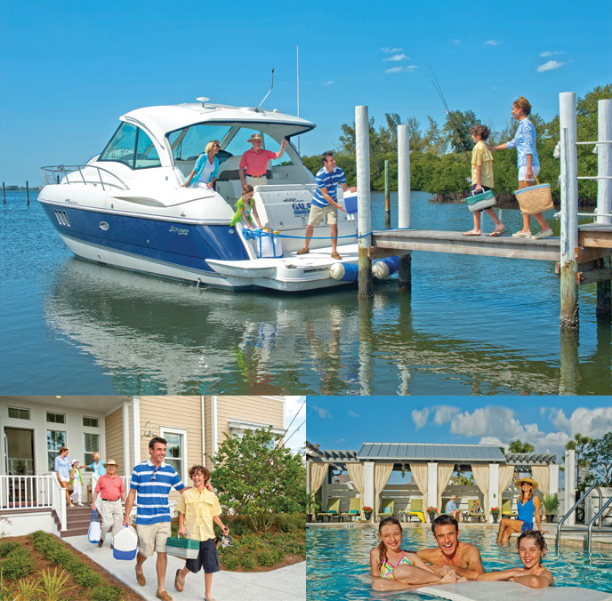 The whole family will enjoy your decision to begin a new lifestyle in the Harbour Isle waterfront property in Florida.