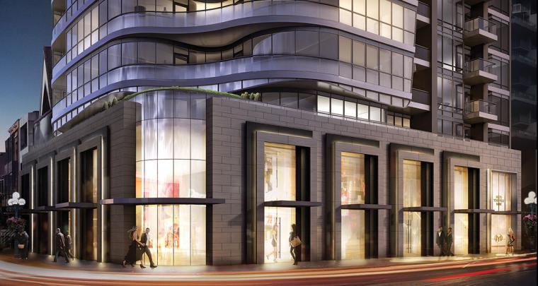 At Cumberland Street and Bellair Street, Minto Yorkville Park is 25 storeys high, now on sale