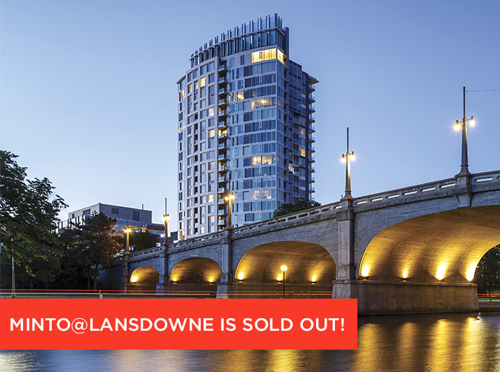 Minto@Lansdowne is sold out!