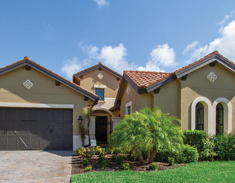 move in soon homes at TwinEagles in Naples, Florida